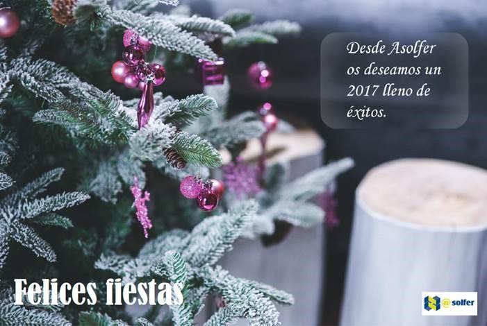 ¡El equipo de Asolfer te desea que pases Feliz Navidad!