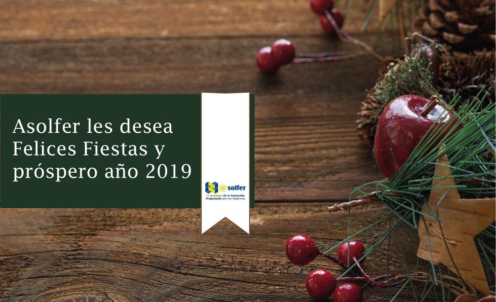 Asolfer les desea Felices Fiestas